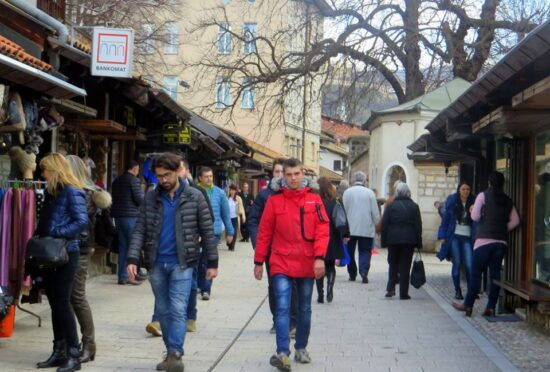 Vikend u Saracima (Sarajevo, 19. februar 2016, foto: Mina Coric)