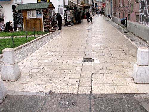 Stubići u Starom gradu (Sarajevo, april 2016)