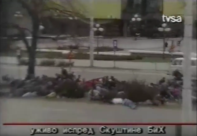 Scena iz dokumentarnog filma Dogodilo se na današnji dan