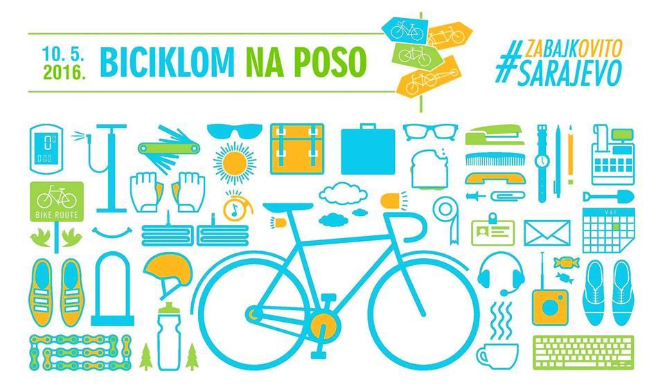 Biciklom na poso 2016