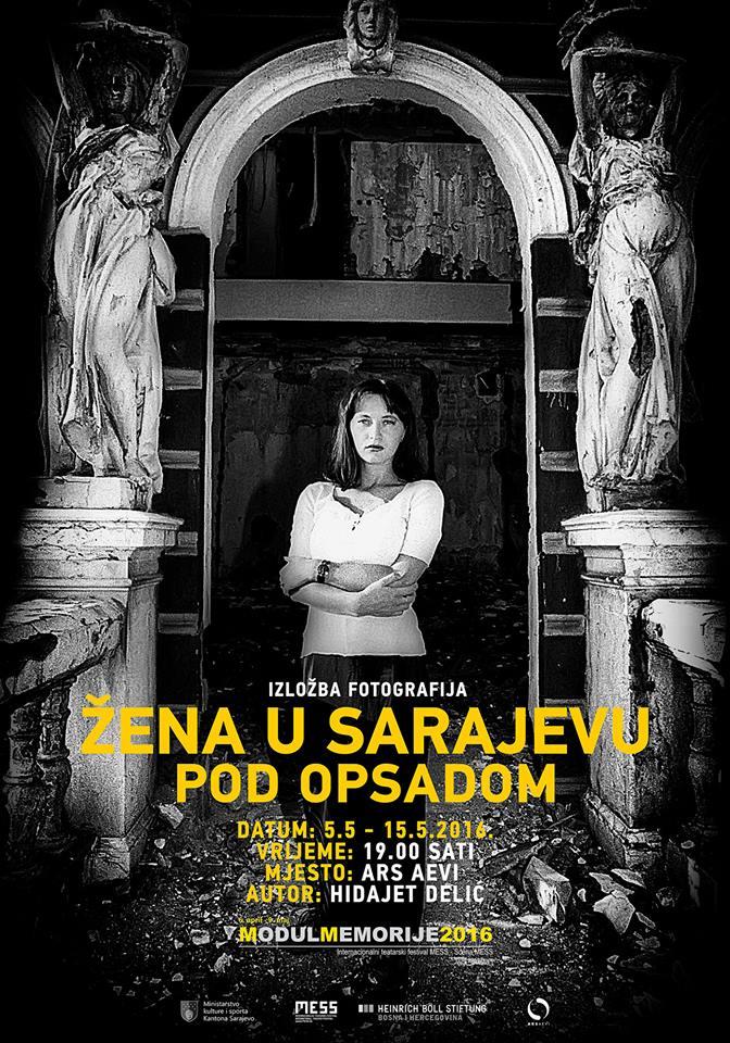 Žena u Sarajevu pod opsadom, Hidajet Degi Delić (Modul memorije 2016)