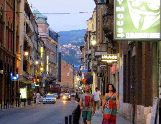 Šetnja Starim gradom (Sarajevo, 24. juni 2016, foto: Mina Ćorić)