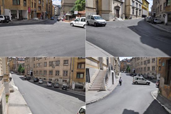 Ulica Josipa Štadlera (Sarajevo, juni 2016)