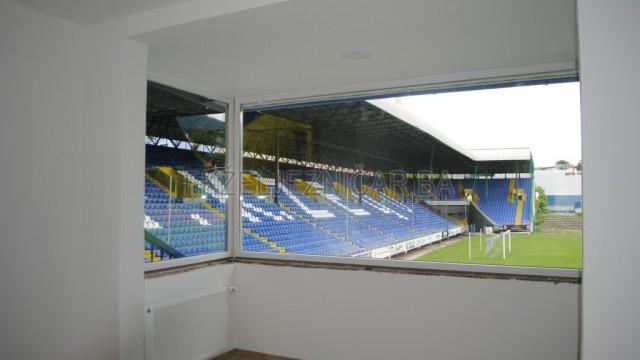 U toku je obnova stadiona Grbavica (Sarajevo, 2. juni 2016)