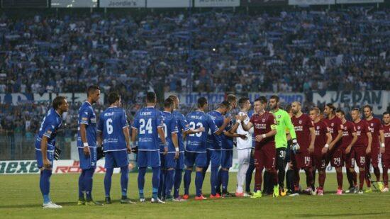 Vječiti derbi: FK Željezničar 1-1 FK Sarajevo (Sarajevo, 23. juli 2016, foto: Damir Hajdarbašić)