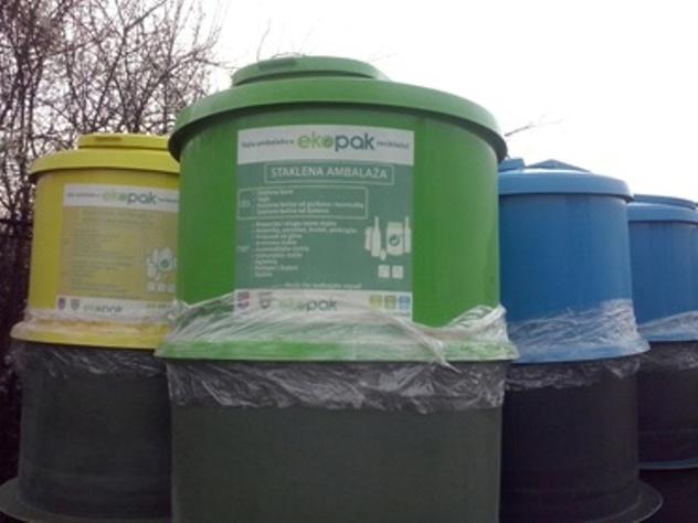 Podzemni kontejneri za rješavanje odlaganja smeća u Sarajeva