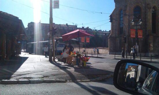 Sunčano jutro (Sarajevo, 5. juli 2016, foto: Zoka Ćatić)