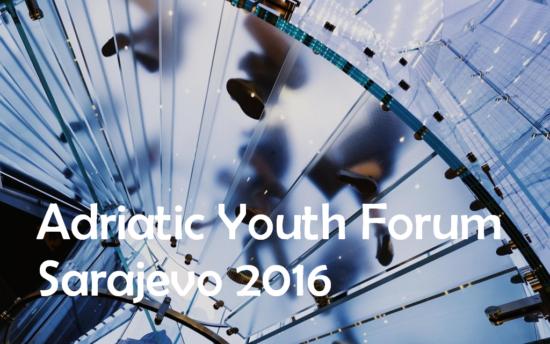Adriatic Youth Forum, Sarajevo 2016