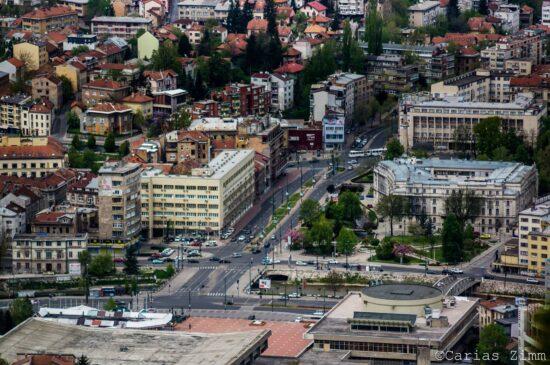 Nekadašnji epicentar kulture i sporta u gradu (Sarajevo, foto: Carias Zimm)