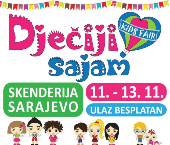 3. Dječiji sajam u Sarajevu (11. do 13. novembar 2016)