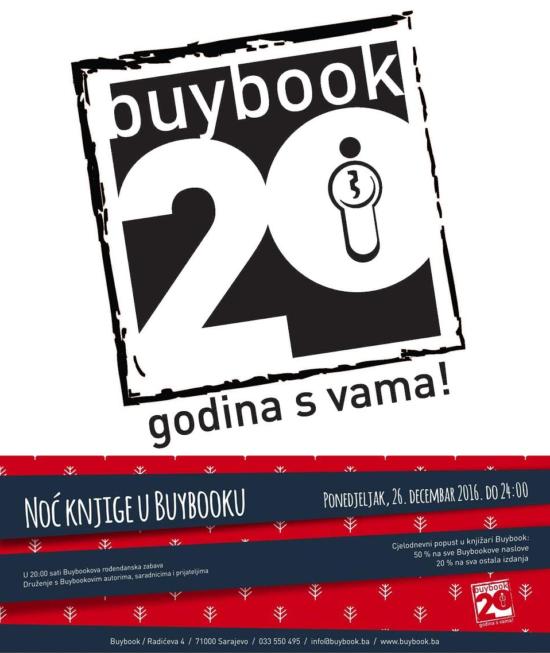 Dvadeset godina Buybooka
