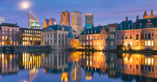 Den Haag, upravno je središte Nizozemske, nalazi se u pokrajini Južna Nizozemska, jedan je od glavnih gradova Ujedinjenih nacija i sjedište nekoliko ustanova te organizacije.
