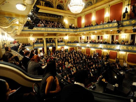Publika u Narodnom pozorištu Sarajevo