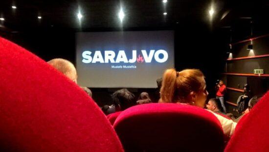 Detalj sa premijere dokumentarnog filmskog eseja SARAJ'VO Mustafe Mustafića