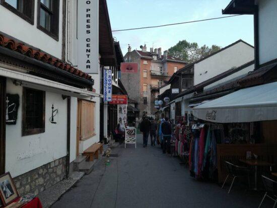 Ulica Halači (Sarajevo, 22. maj 2017, foto: Naser Husic)