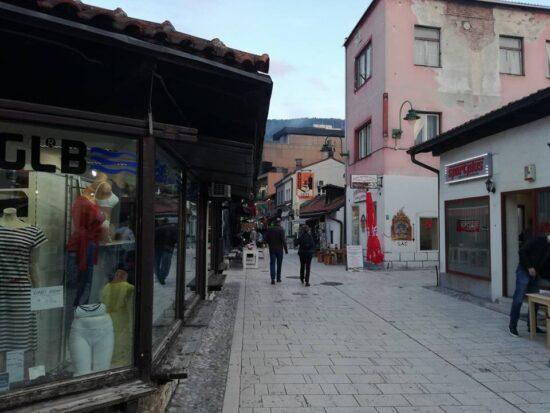Ulica Bazardžani (Sarajevo, 22. maj 2017, foto: Naser Husic)