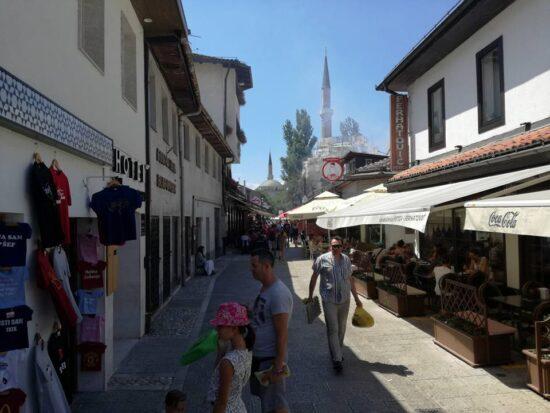 Bravadžiluk, kod Petice (Sarajevo, 30. juli 2017, foto: Naser Husic)