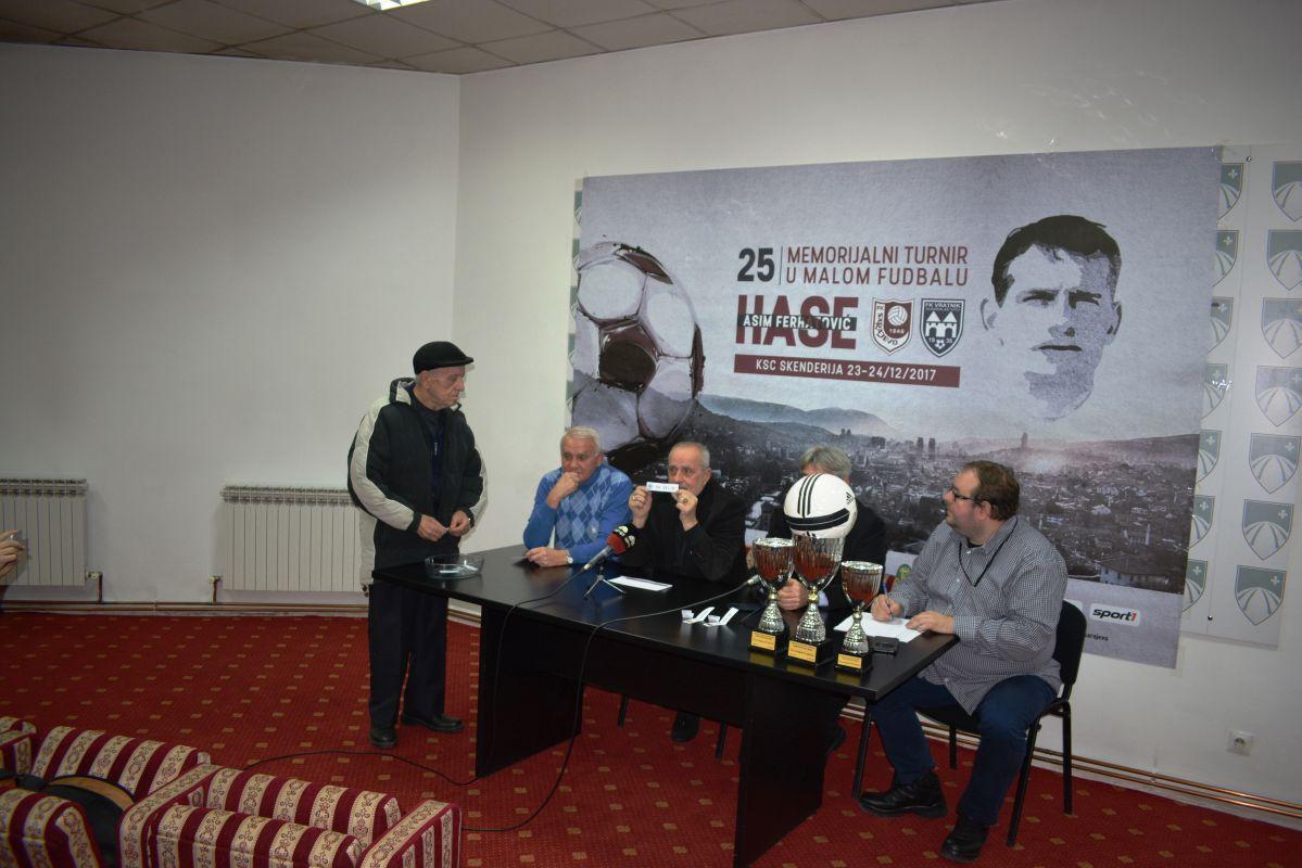 Predstavljanje 25. novogodišnjeg turnira u malom nogometu ASIM FERHATOVIĆ HASE