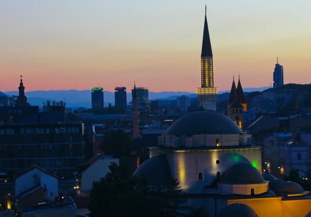 Pogled na Sarajevo