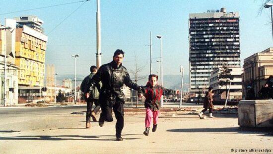 Bijeg od snajpera (Sarajevo 1993)