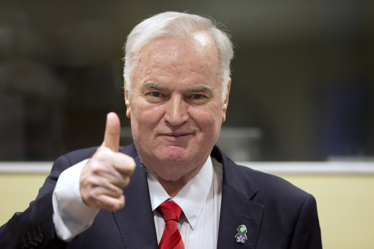 Ratko Mladić (Den Haag, 22.11.2017.)