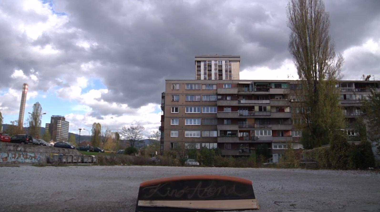 Lokacija nekadašnjeg kina Arena u Sarajevu