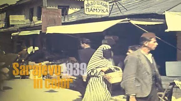 Sarajevo 1939 u boji