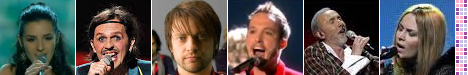 Eurosong: Marija Šestić (2007), Laka (2008), Regina (2009), Vukašin Brajić (2010), Dino Merlin (2011), Maya Sar (2012)