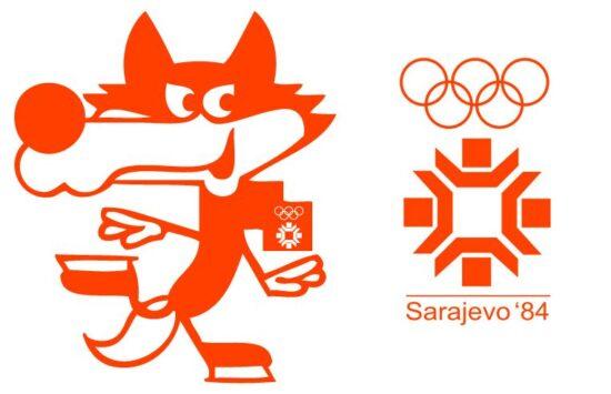Vučko, maskota sarajevske Olimpijade