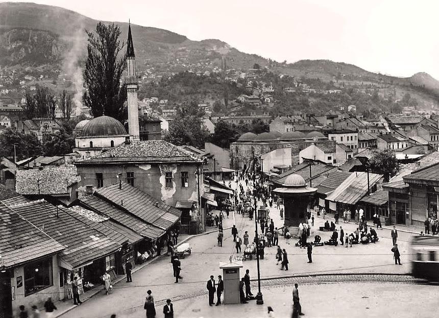 Sarajevska Baščaršija 1960. godine