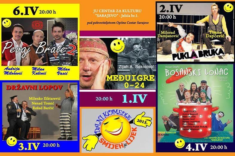 Dani komedije: Smijeh je lijek 2015