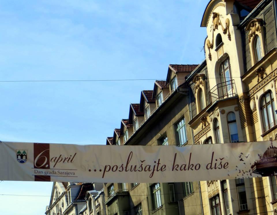 Aprilski dah Sarajeva (Sarajevo, 10. april 2015, foto: Mina Ćorić)