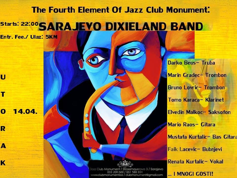 Sarajevo Dixieland Band u Monumentu