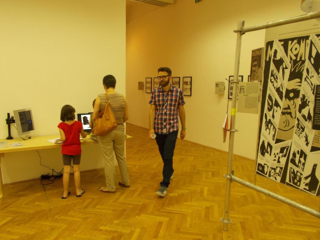 Izložba alternativnog stripa u Umjetničkoj galeriji BiH (Sarajevo, juli 2015)