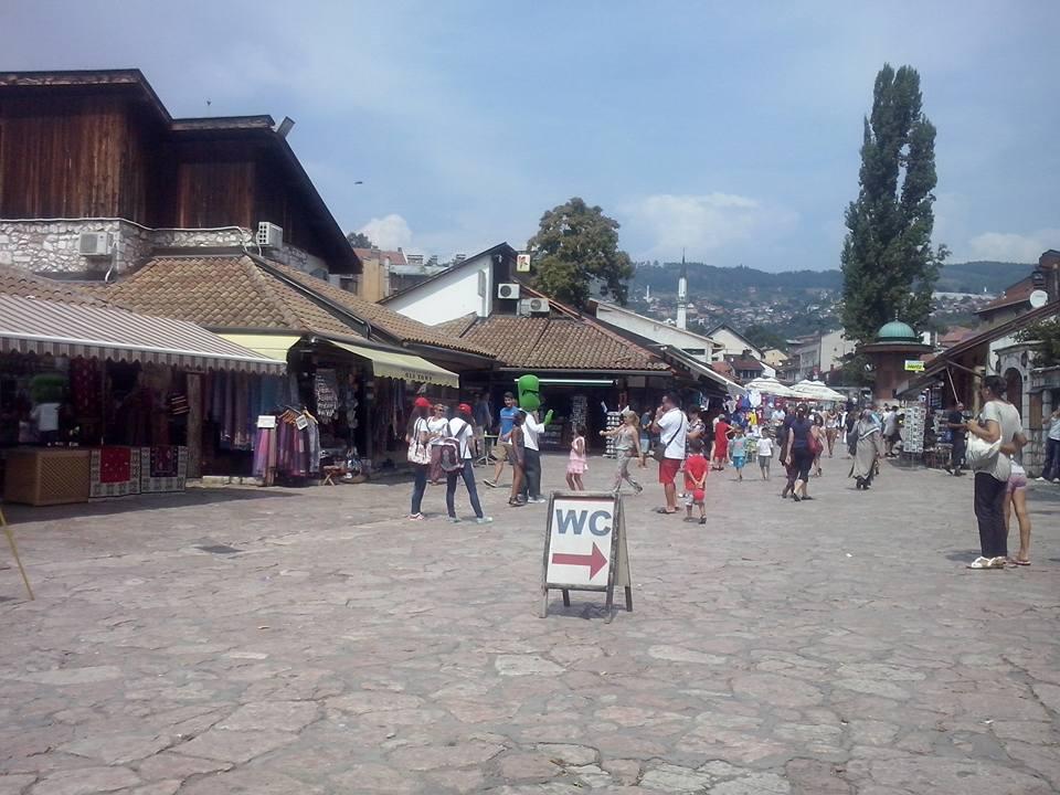 Baščaršijski trg (Sarajevo, 2015, foto: Naser Husić)
