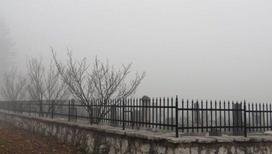 Smog na Miljacki (Sarajevo, 21. decembar 2015, foto: Mina Coric)