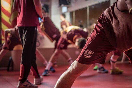 Fudbaleri FK Sarajevo na pripremama