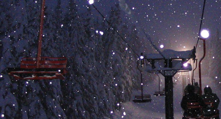 Noćno skijanje u Babinom dolu