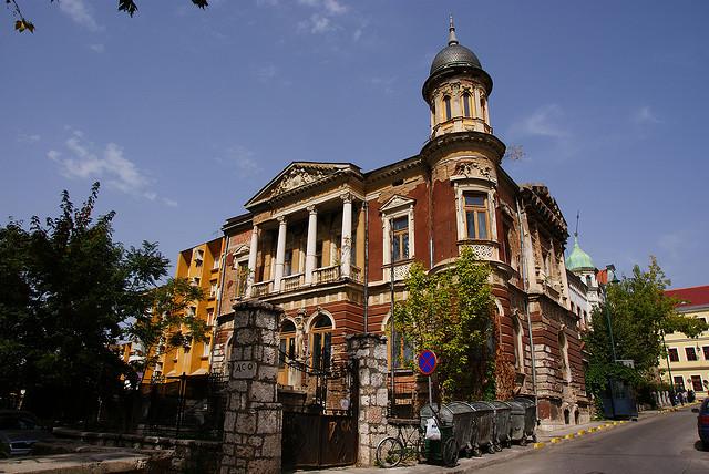 Zgrada Olimpijskog muzeja u nacionalizovanoj Vili Mandić izgrađenoj 1903. godine u Petrakijinoj ulici.