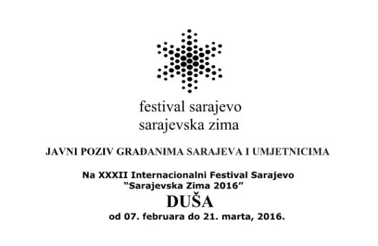 Sarajevska zima 2016: DUŠA / Duša umjetnika – Duša grada