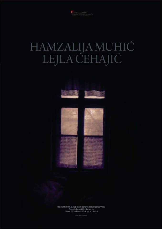 Izložba Hamzalije Muhića i Lejle Ćehajić u Umjetničkoj galeriji BiH