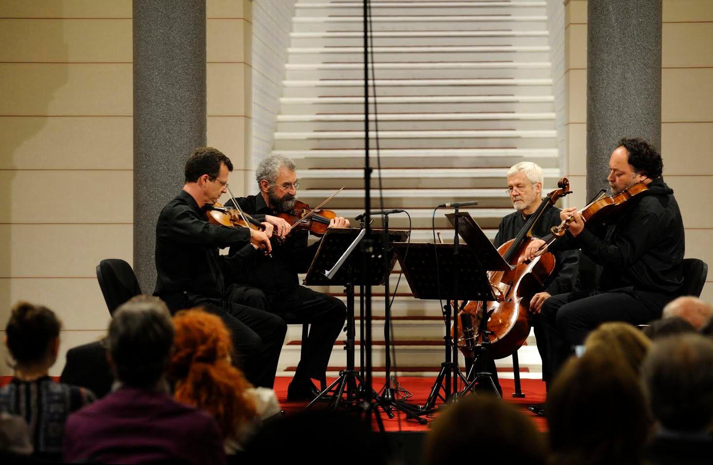 Gudački kvartet Tartini u Vijećnici (Sarajevo, 12. maj 2016)