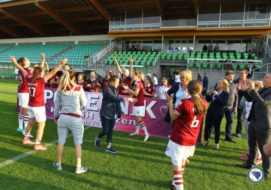SFK 2000 Sarajevo, pobjednice KUP BiH 2015-16