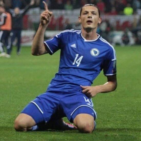 Milan Đurić: Ovo je za moju Bosnu i Hercegovinu, za sve naše navijače i za sve one koji su sumnjali u nas.