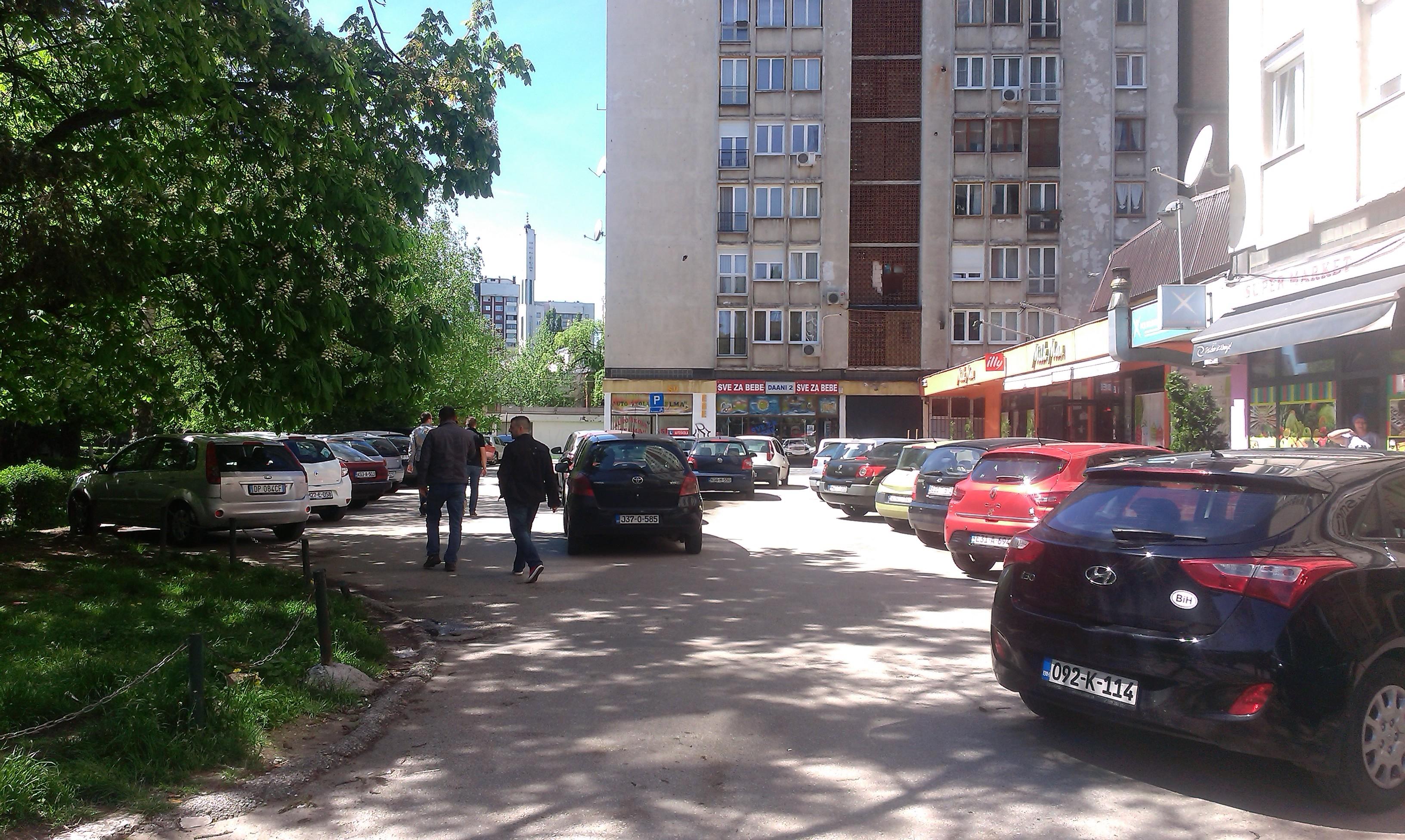 Parkiranje u Sarajevu