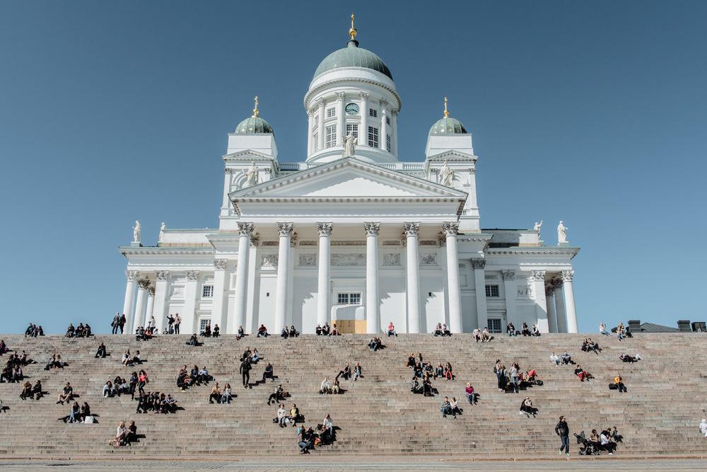 Helsingin kaupunki glavni je i najveći grad Finske.