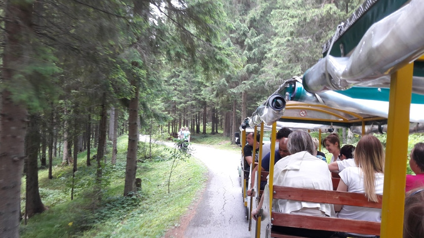Vozićem kroz Bijambare (juli 2016)