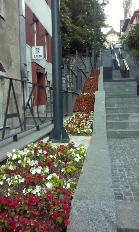 Ulica Pruščakova (Sarajevo, juli 2016)