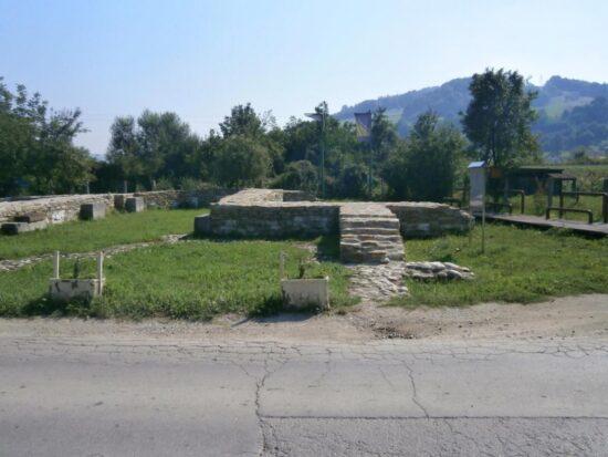Ostaci srednjovjekovnog bosanskog grada Visoki