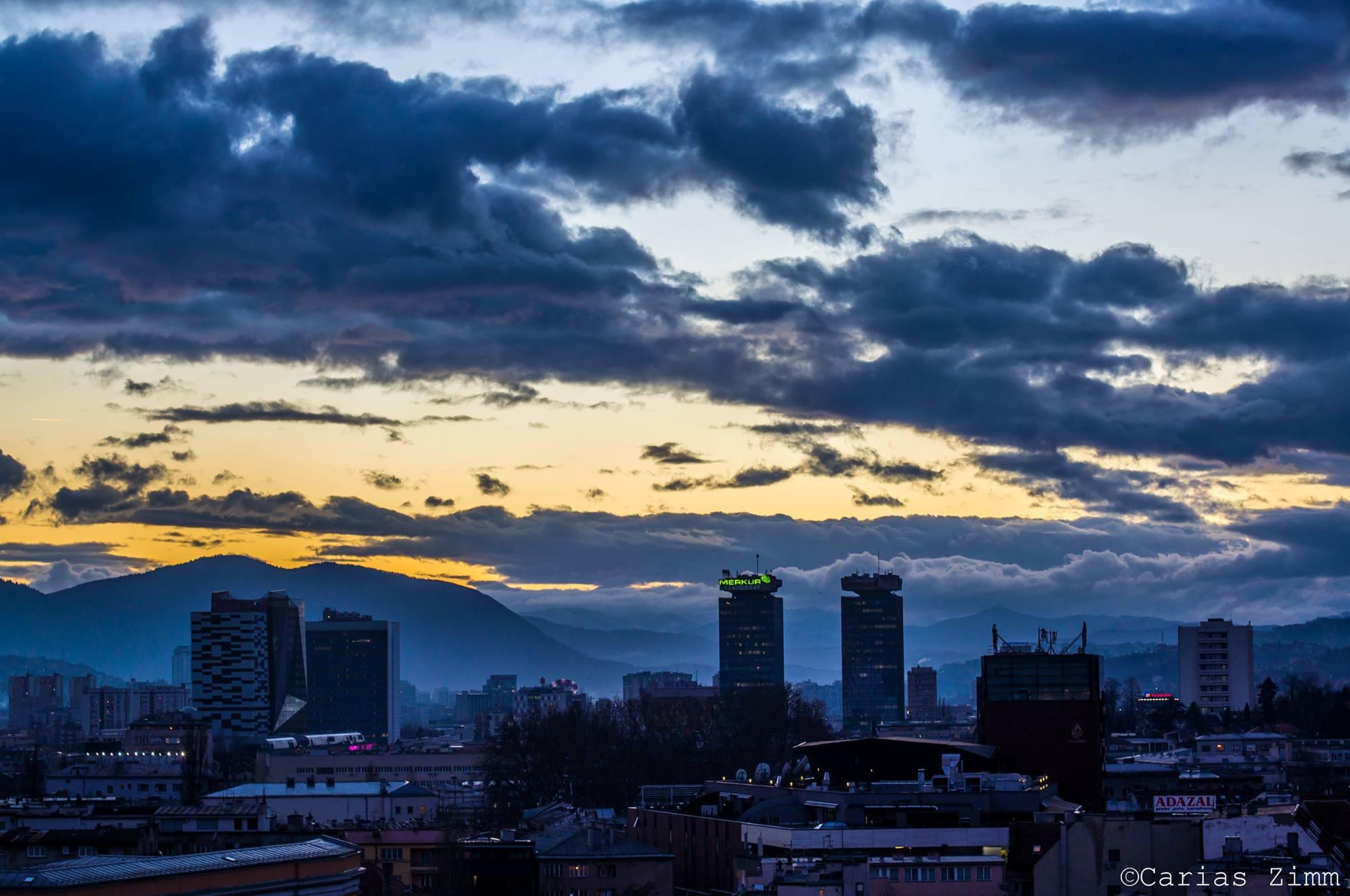 Ima l' jada k'o kad akšam pada (Sarajevo, foto: Carias Zimm)